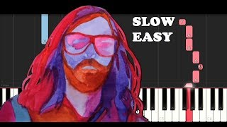 Breakbot Baby I 39 M Yours Slow Easy Piano Tutorial