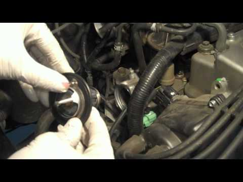 Tutorial: Change thermostat on a 2002 Honda Accord