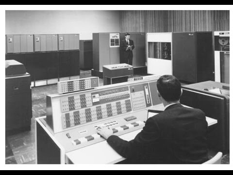 IBM vintage computer promotional film 1970 - Historical Educational