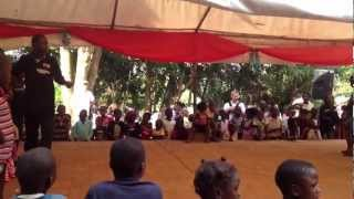 Return Ministries in Uganda! Some crazy game my Brother Ddumba Michael Put On!!!