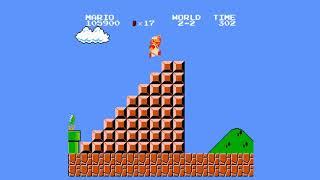 Super Mario Bros. (NES-Emulator) [WORLD 2]