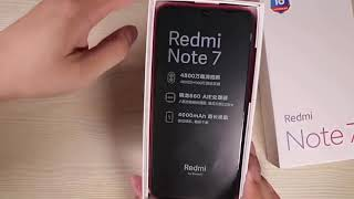 Xiaomi redmi note 7 - شاومي ريدمي نوت 7-Umboxing-Gaming PUBG