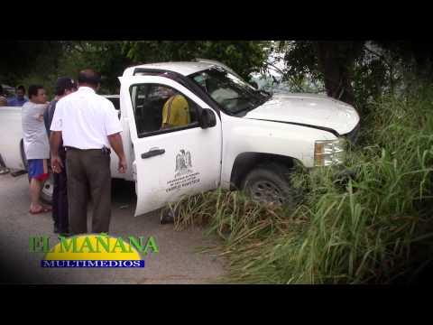 ¡10 heridos en choque!: SON UNIVERSITARIOS