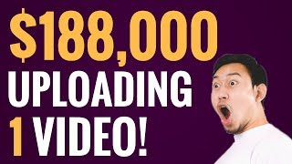 $188,000 By Re Uploading One Video?  Here's How!