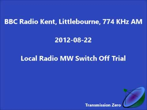 BBC Radio Kent MW Switch Off Trial