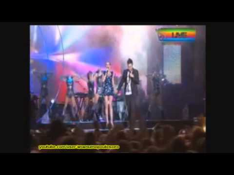 Teodora ft Giorgos Giannias  Master Tempo - Balkan Music Awards 2011