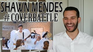 Download Lagu VOCAL COACH reaction to SHAWN MENDES cover battle with JAMES CORDEN Gratis STAFABAND