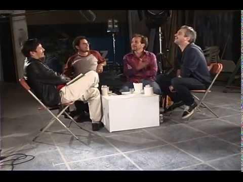 Armando Casas conversa con Alfonso Cuarón en el CUEC
