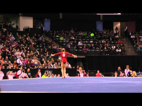 Ekaterina Baturina - Jr Floor Exercise Finals - 2012 Kellogg&#039;s Pacific Rim Championships
