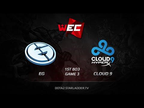 EG vs Cloud9, WEC LAN Finals, Grand Final [1st BO3] Game 3
