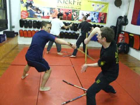 FMA-Eskrima -Kali-Arnis Class  7and8 Footwork,Kickfit Martial Arts Academy,Nottingham,UK Image 1