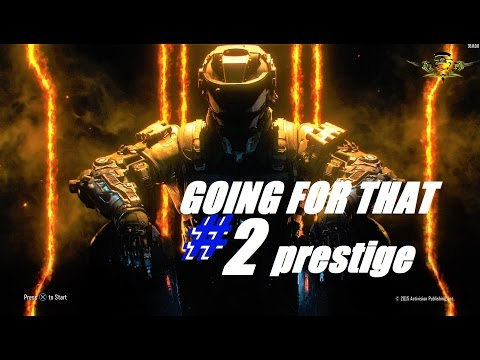 CALL OF DUTY BLACK OPS 3 STARTING MY #2 PRESTIGE AND DOUBLE XP - PLAYSTATION 4 ONLINE