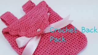 CROCHET KIDS BACK PACK-1