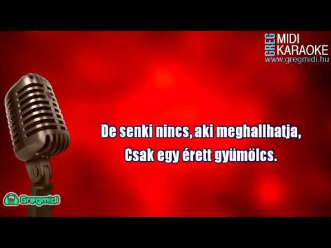 Magna Cum Laude - Piros az alma (karaoke) demó