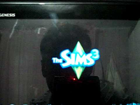 Jogo The Sims 3 no tablet Genesis gt 7200