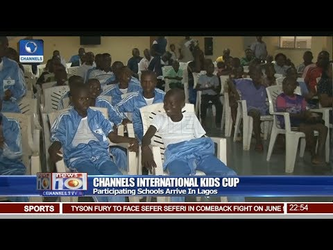 Channels Int'l Kids Cup: Participating Schools Arrive In Lagos Pt 4 | News@10 |