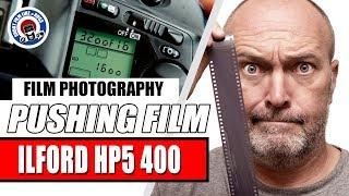 PUSHING FILM AND TESTING ILFORD HP5 400