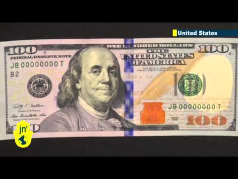 New 100 Dollar Bill: iconic US banknote gets new look including additional secur