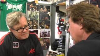 Freddie Roach Talks About Boxers Amir Khan and Manny Pacquiao - Interview by Pete Allman