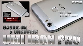 UMI IRON PRO (Hands-on) Touch Fingerprint ID, Skyline LED, USB Type-C - Video by s7yler