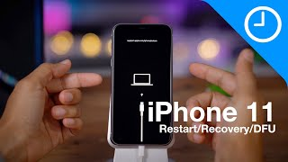 iPhone 11 (Max Pro): how to force restart, recovery mode, DFU mode, etc.