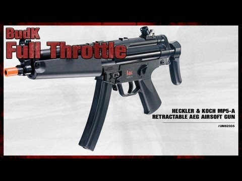 Heckler & Koch MP5 A Retractable AEG Airsoft Gun - $119.99