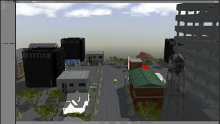 vehicle_sim with Autoware