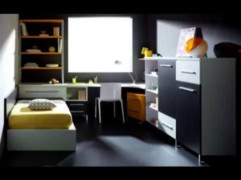 Dormitorios juveniles Modernos - YouTube