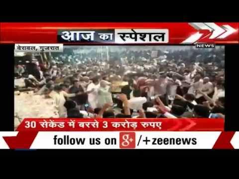 BJP MP Poonamben Madam dances at a programme in Gujarat
