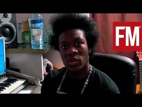 Benga In The Studio With Future Music 2008