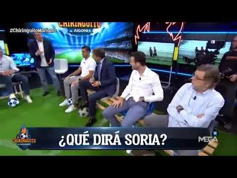 HOY AY MAS ANTIMADRIDISTAS Cristóbal Soria vs Real Madrid Muy molesto DEPORTES CUATRO #DiarioAS Gol