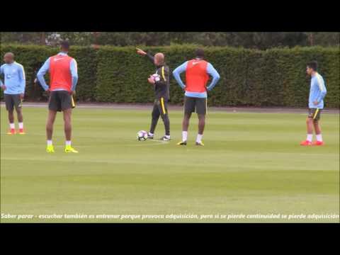 Pep Guardiola - Entrenar el Modelo de Juego desde la 1ª sesión de pretemporada