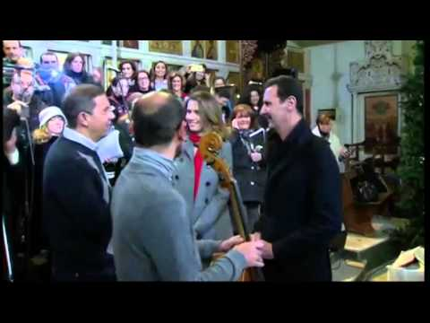 15-12-20 Syrian President visits Damascus church
