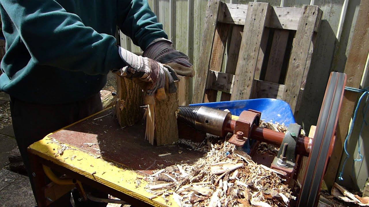 Колун для дров своими руками электрический