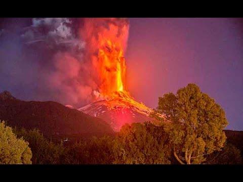 3.385 personas fueron evacuadas por la erupción del volcán Villarrica