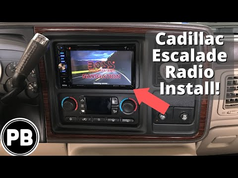 1999 - 2006 Cadillac Escalade Boss Touch Screen Stereo Install