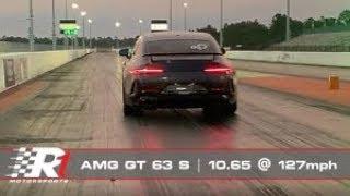 RENNtech AMG GT 63 S | World Record 1/4Mile | 10.65@127