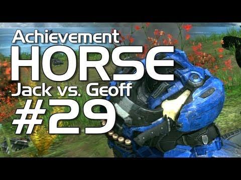 Halo: Reach - Achievement HORSE #29 (Jack vs. Geoffrey) | Rooster Teeth