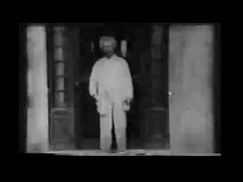 1909 Footage of Mark Twain (Samuel Clemens)