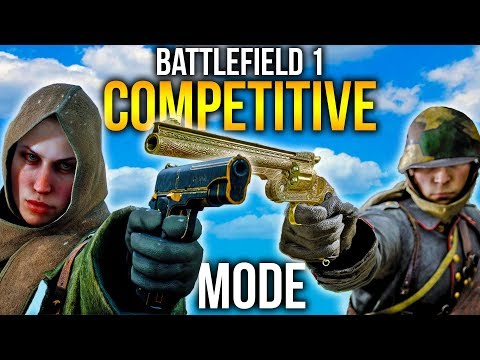 COMPETITIVE 5v5 MODE GAMEPLAY BATTLEFIELD 1 Incursions in BF1 FIRST LOOK