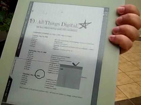 Thumb Plastic Logic y su lector de eBooks touch con E-Ink