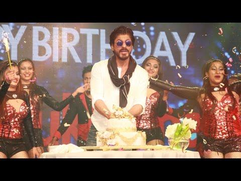 UNCUT:  Shahrukh Khan 50th BIRTHDAY Celebrations At TAJ | Dilwale Trailer