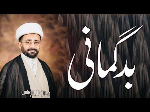 Badgumaani.. | Maulana Waseem Abbas | 4K
