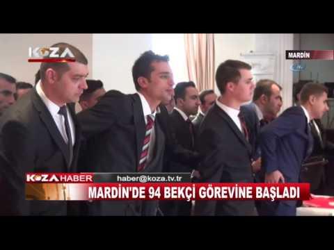 MARDİN'DE 94 BEKÇİ GÖREVE BAŞLADI