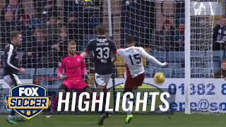 Rangers manager does headstand after missed chance   2016-17 Scottish Premiership Highlights