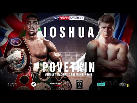 Alexander Povetkin: Road to the fight with Anthony Joshua  World of Boxing Promotions
