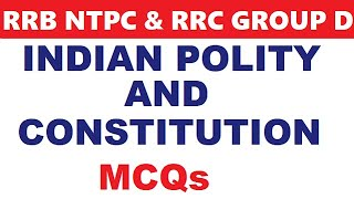 General Awareness for rrb ntpc,rrb je and rrc level 01 | Indian Polity mcq