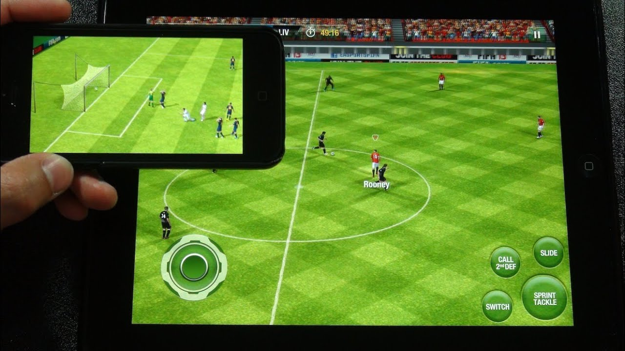 Fifa 12 Ipad Iphone Controller Fifa 13 For Ipad Iphone Ipod