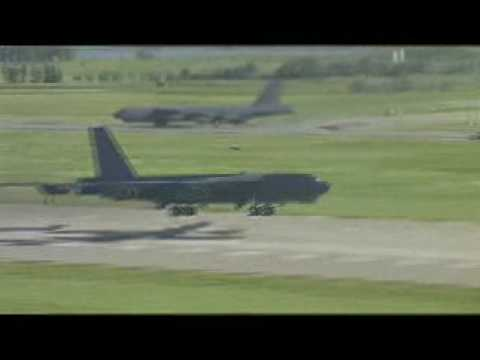 B-52 MITO departure, Minot AFB, ND