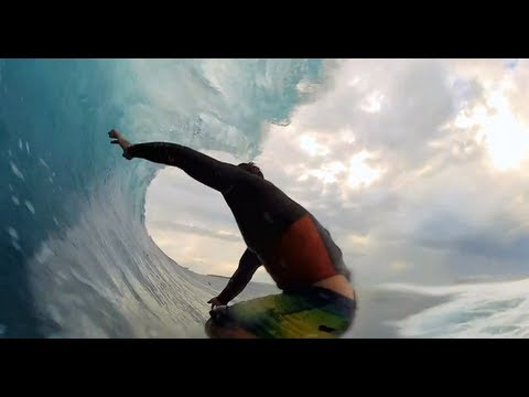 GoPro HD: Endless Cloudbreak Barrel with Kalani Chapman